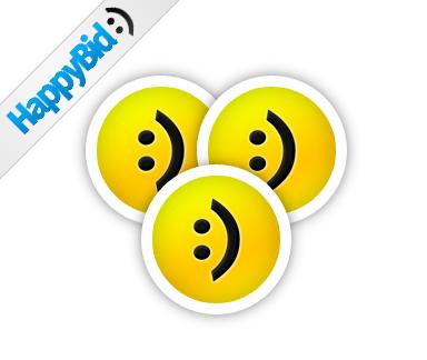 25 HappyBid Coins